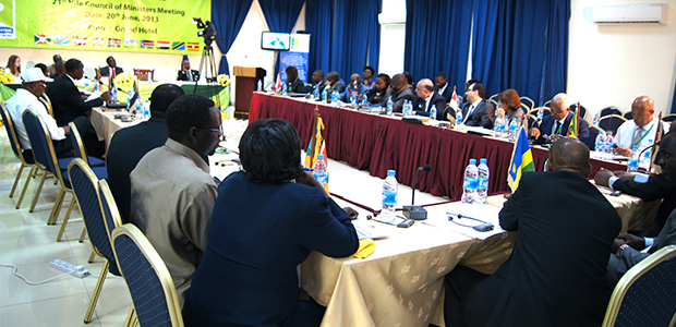 21st Nile COM meeting in Juba, in June 2013