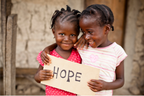 children with hope