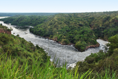murchison falls panoramic view