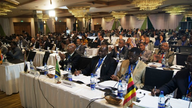 Cross section of participants during the 4th NBDF in Nairobi