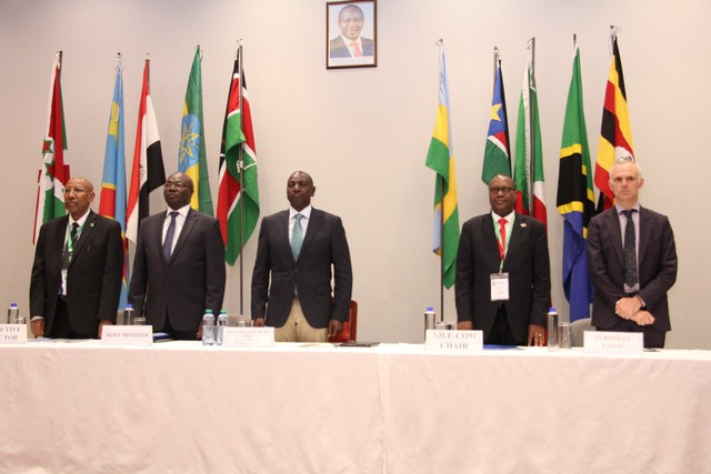 Kenyan Deputy President Ruto announces 2nd Nile Basin Heads of State Summit, launches Regional HydroMet Project